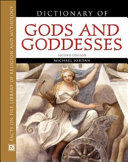 Dictionary of Gods and Goddesses