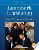 Ebook Landmark Legislation 1774-2012 Epub Stephen W. Stathis Apps Read Mobile