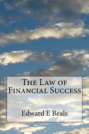 The Law of Financial Success Misunderstood As This Idea Of