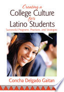 Creating A College Culture For Latino Students