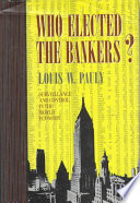 Who Elected the Bankers