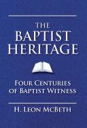 download ebook the baptist heritage pdf epub