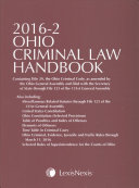Ohio Criminal Law Handbook 2016 2