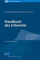 Handbuch des Erbrechts