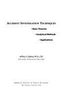 Accident Investigation Techniques