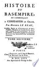 Histoire Du Bas Empire