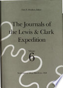 The Journals of the Lewis and Clark Expedition  November 2  1805 March 22  1806