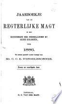 Jaarboekje van de regterlijke magt in het Koningrijk der Nederlanden en zijne koloniën