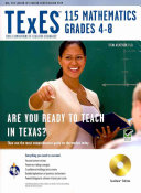 Texes 115 Mathematics 4 8 W CD ROM