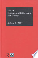 International Bibliography of Sociology