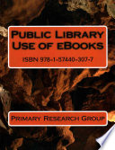 Public Library Use of eBooks