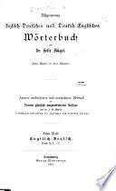 Allgemeines englisch-deutsches und deutsch-englisches Wörterbuch