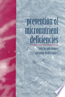 Prevention Of Micronutrient Deficiencies