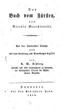 Das Buch vom Fürsten