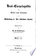 Real encyclop  die f  r Bibel und Talmud