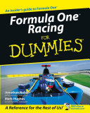 Formula One Racing For Dummies Book
