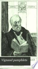 Vignaud Pamphlets