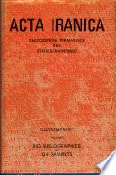 Acta Iranica
