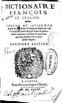 Dictionaire francois et italien