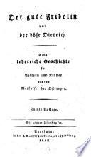 Der gute Fridolin und der böse Dietrich
