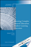Assessing Complex General Education Student Learning Outcomes