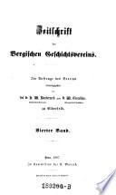 Zeitschrift des Bergischen Geschichtsvereins
