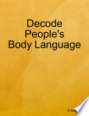 Decode People S Body Language