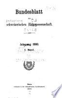 Bundesblatt der Schweizerischen eidgenossenschaft