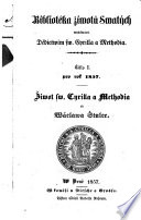 Ziwot swatych Cyrilla a Methodia, apostolu slowanskych. (Leben der Slavenapostel Cyrill und Method.) boh