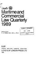 Lloyd s Maritime and Commercial Law Quarterly