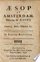 Aesop At Amsterdam