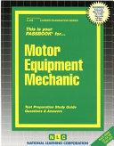 Motor Equipment Mechanic