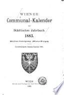 Wiener kommunal-Kalender und städtisches Jahrbuch für ...