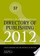 Directory Of Publishing 2012 book