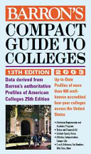 Barron s Compact Guide to Colleges