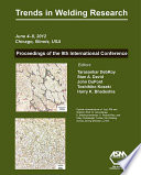 Trends in Welding Research 2012  Proceedings of the 9th International Conference