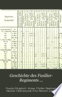Geschichte des Füsilier- Regiments General-Feldmarschall Prinz Albrecht von Preussen (Hannoversches)