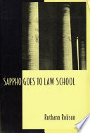 Sappho Goes to Law School