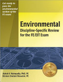 Environmental Discipline specific Review for the FE EIT Exam