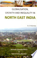Globalisation  Growth and Inequality in North East India  Economic disparity