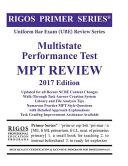 Rigos Primer Series Uniform Bar Exam  Ube  Multistate Performance Test  Mpt  Review