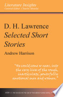 D  H  Lawrence  Selected Short Stories