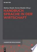Handbuch Sprache in der Wirtschaft