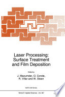 Laser Processing Surface Treatment And Film Deposition book