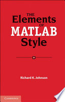 The Elements of MATLAB Style