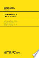 The Chemistry Of The Actinides