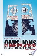 Omissions et manipulations de la Commission d'enquête sur le 11 Septembre