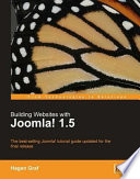 Building Websites with Joomla  1 5