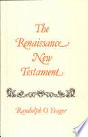The Renaissance New Testament