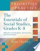 The Essentials of Social Studies  Grades K 8